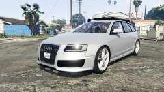 Audi RS6 Avant (C6) [add-on] for GTA 5