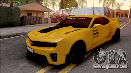 Chevrolet Camaro ZL1 Ngasal Works Kit for GTA San Andreas