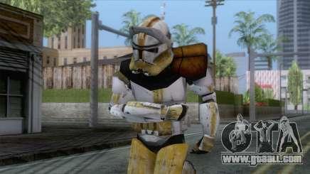Star Wars JKA - Commander Bly Skin for GTA San Andreas