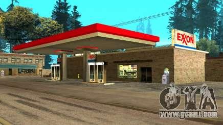Exxon Gas Station for GTA San Andreas