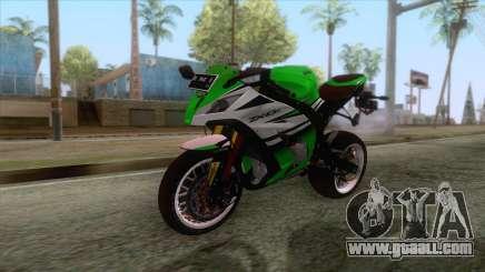 Kawasaki Ninja ZX-10R Ruff Ryder for GTA San Andreas