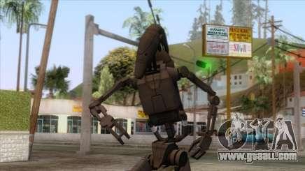 Star Wars - Shadow Droid Skin for GTA San Andreas