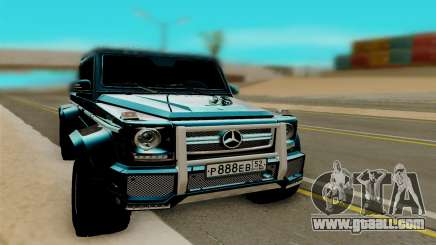 Mersedes Benz G65 6x6 for GTA San Andreas