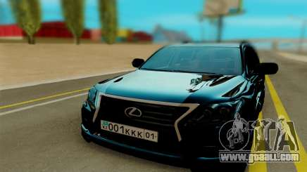Lexus LX570 black for GTA San Andreas