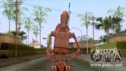 Star Wars - Geonosis Droid Skin for GTA San Andreas