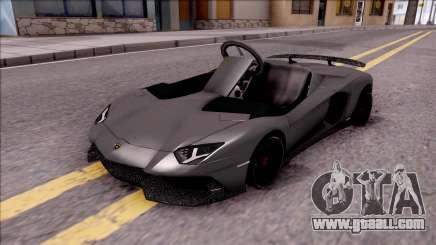 Lamborghini Aventador J-Kart for GTA San Andreas