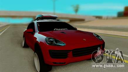 Porsche Cayenne Turbo S 2015 for GTA San Andreas