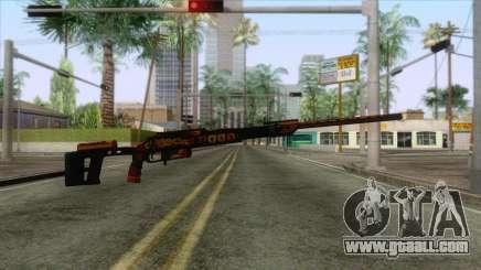 Warface - Orsis T-5000 for GTA San Andreas