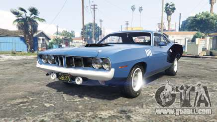 Playmouth Hemi Cuda (BS) 1971 [add-on] for GTA 5