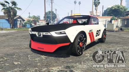 Nissan IDx Nismo concept [add-on] for GTA 5