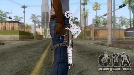 MP5 Tiger Skin for GTA San Andreas third screenshot