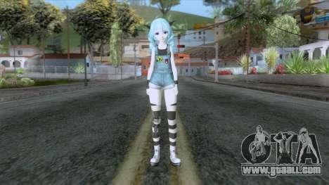 Happy Miku Skin for GTA San Andreas