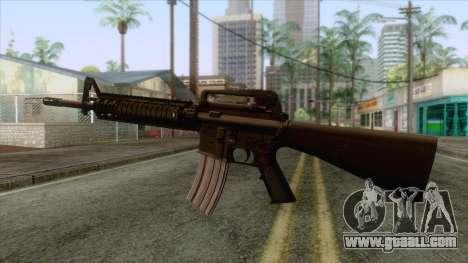 M16A4 Assault Rifle for GTA San Andreas third screenshot