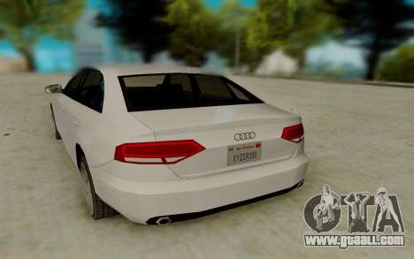 Audi A4 for GTA San Andreas right view