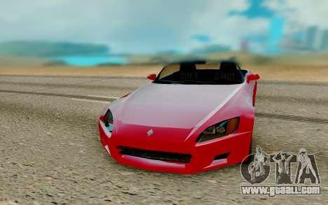 Honda S2000 SA Style for GTA San Andreas