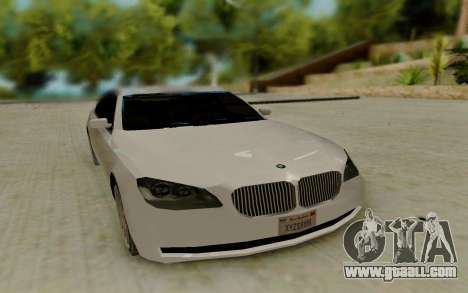 BMW 7 Series 750Li xDrive for GTA San Andreas