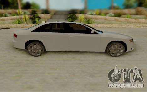 Audi A4 for GTA San Andreas left view
