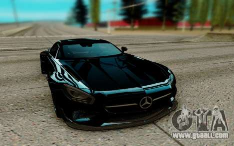 Mercedes AMG GTR for GTA San Andreas