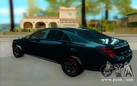 Mercedes S500 W222 for GTA San Andreas