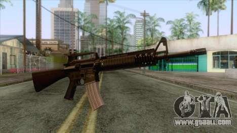 M16A4 Assault Rifle for GTA San Andreas second screenshot