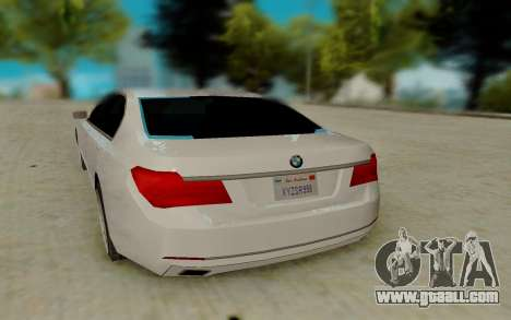 BMW 7 Series 750Li xDrive for GTA San Andreas right view