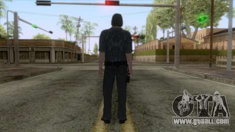 The Walking Dead - Rick Grimes for GTA San Andreas