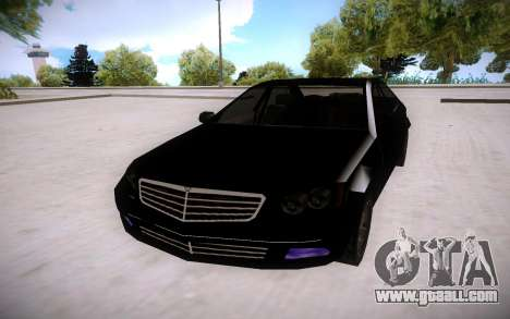 Mercedes-Benz C Class for GTA San Andreas back view