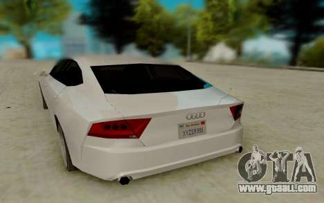 Audi A7 for GTA San Andreas right view