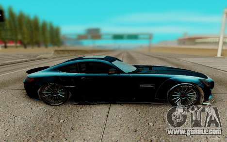 Mercedes AMG GTR for GTA San Andreas left view