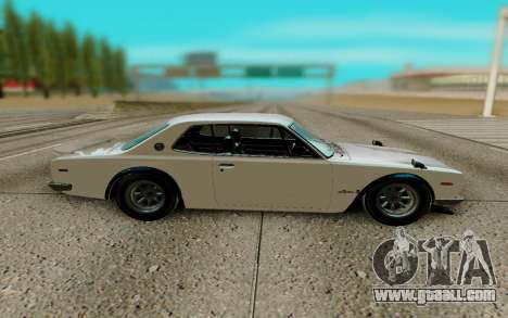 Nissan Skyline GT R Coupe 1969 for GTA San Andreas left view