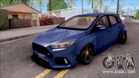 Ford Focus RS 2017 Fifteen52 Bodykits for GTA San Andreas