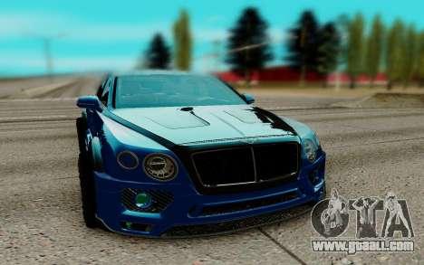 Bentley Bentayga for GTA San Andreas