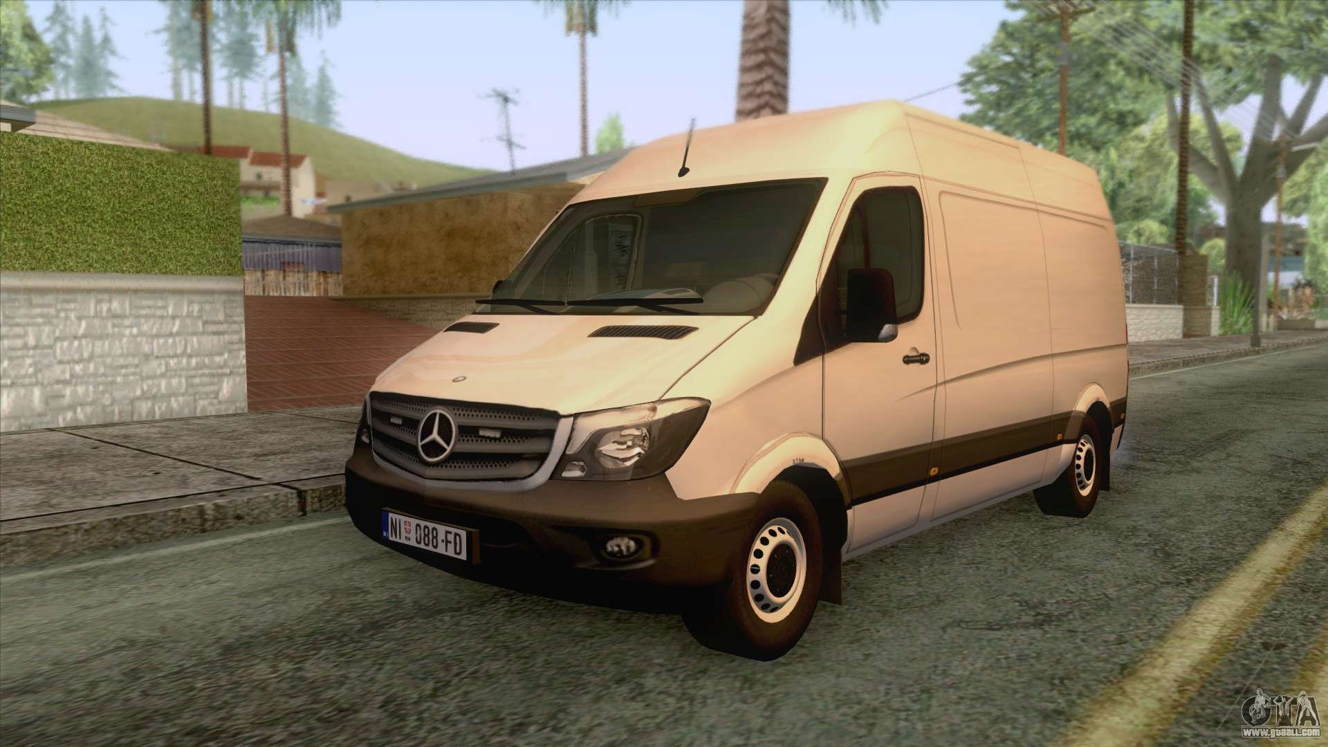 mercedes benz sprinter 2017 for gta san andreas. Black Bedroom Furniture Sets. Home Design Ideas
