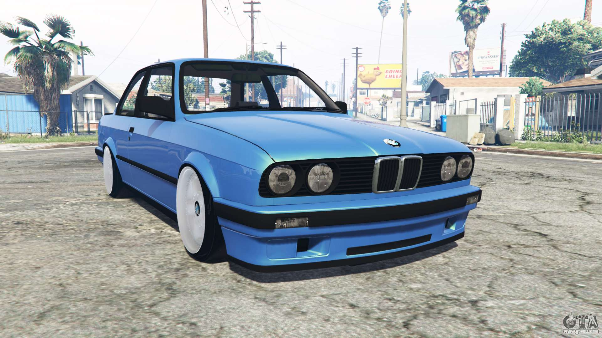 Bmw M3 E30 Replace For Gta 5