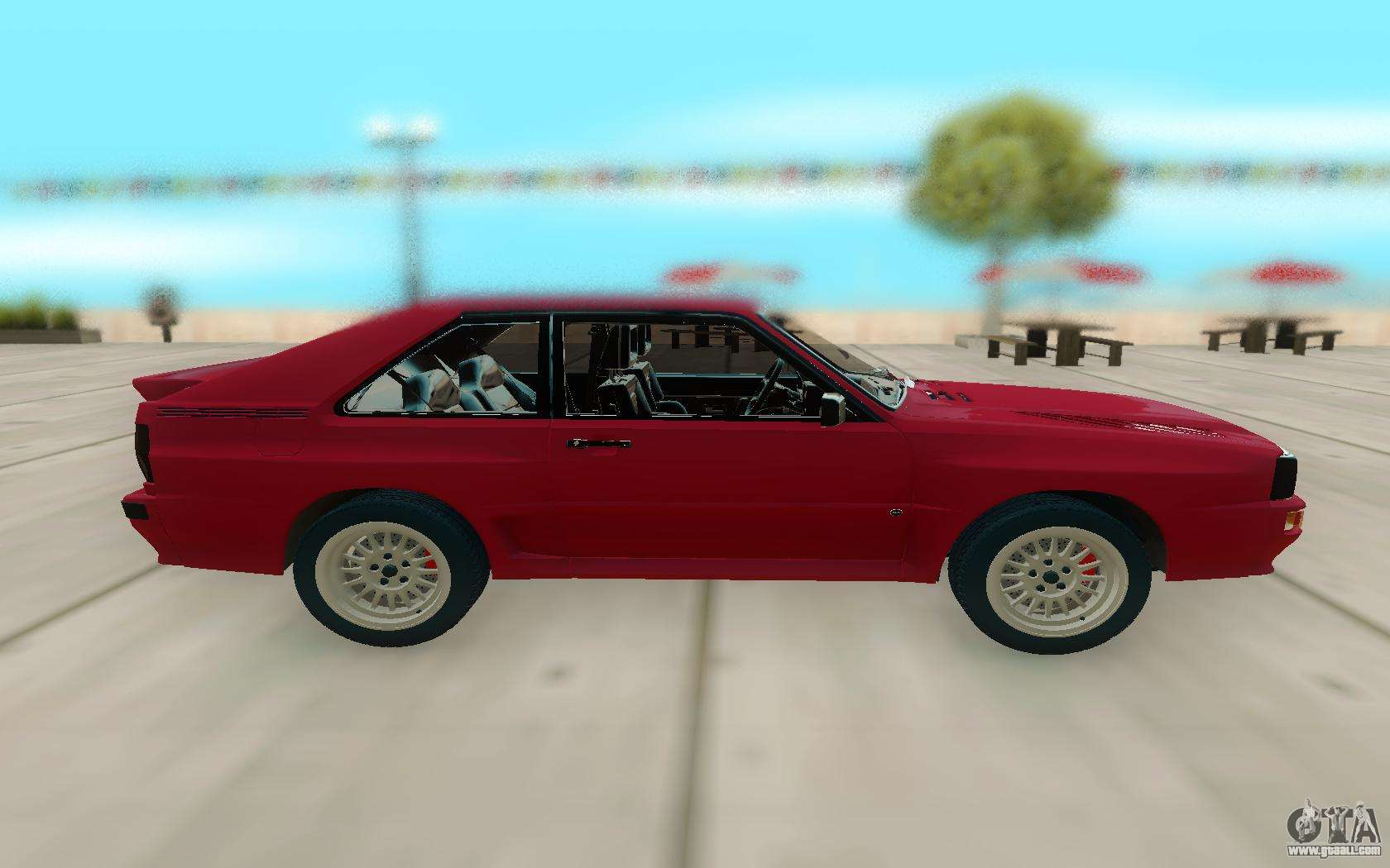 audi sport quattro for gta san andreas. Black Bedroom Furniture Sets. Home Design Ideas