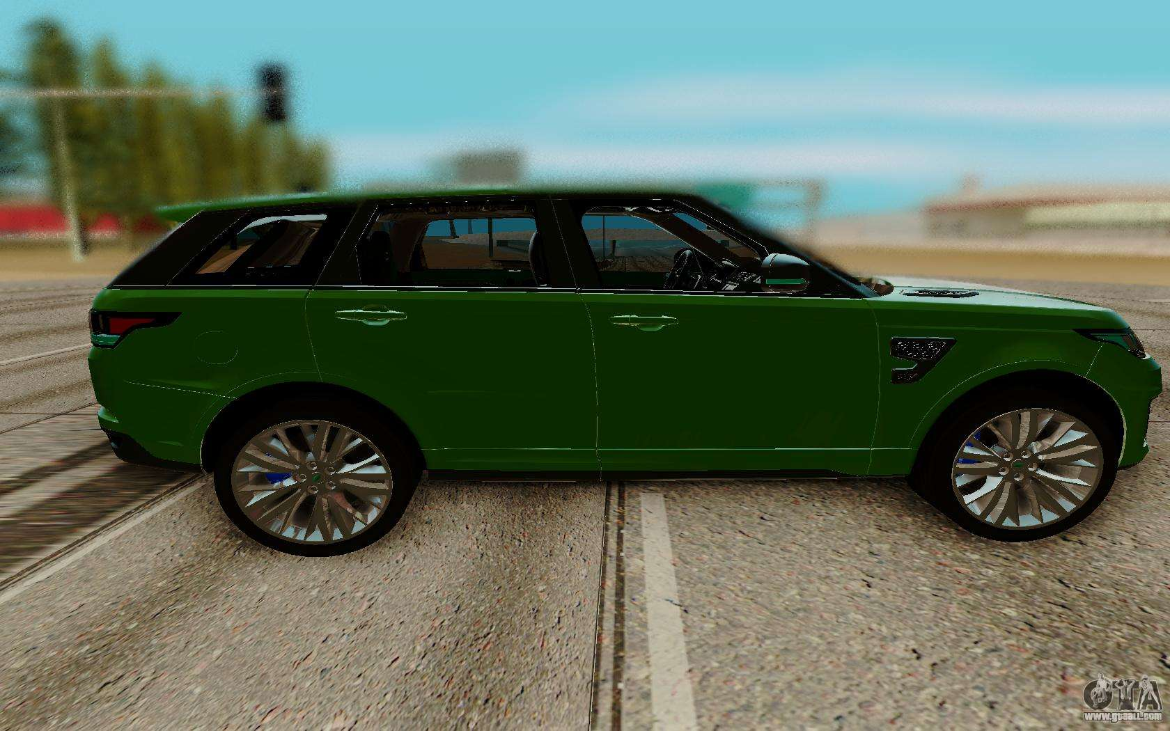 land rover range rover sport supercharged for gta san andreas. Black Bedroom Furniture Sets. Home Design Ideas
