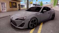 Toyota GT86 HQ for GTA San Andreas