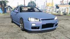 Nissan Skyline GT sedan (ER34) [replace] for GTA 5