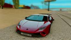 Lamborghini Huracan red for GTA San Andreas