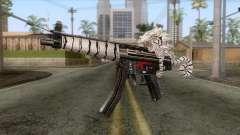 MP5 Tiger Skin for GTA San Andreas