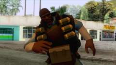 Team Fortress 2 - Demo Skin v1 for GTA San Andreas