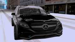 Mercedes-Benz GLE63 AMG Wagon for GTA San Andreas