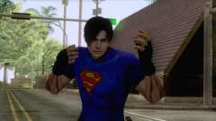 Leon Superman Cloth Skin for GTA San Andreas