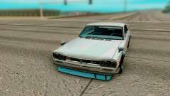 Nissan Skyline GT R Coupe 1969 for GTA San Andreas