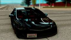 Honda Civic black for GTA San Andreas