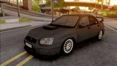 Subaru Impreza WRX STi silver for GTA San Andreas