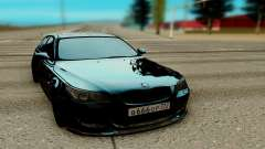 BMW M5 E60 black for GTA San Andreas