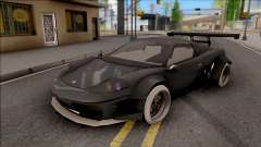 Rocketbunny Turismo v2 for GTA San Andreas
