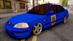 Honda Civic Ies Gendarmerie for GTA San Andreas