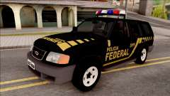 Chevrolet Blazer Federal Police of Brazil for GTA San Andreas